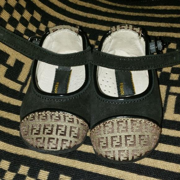 Fendi Shoes | Fendi Infant Girl Shoes